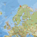 île de Senja en Norvège