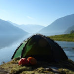 Tente Allak, autoportante, pour le bivouac en kayak de mer - photos @ Tentes4Saisons