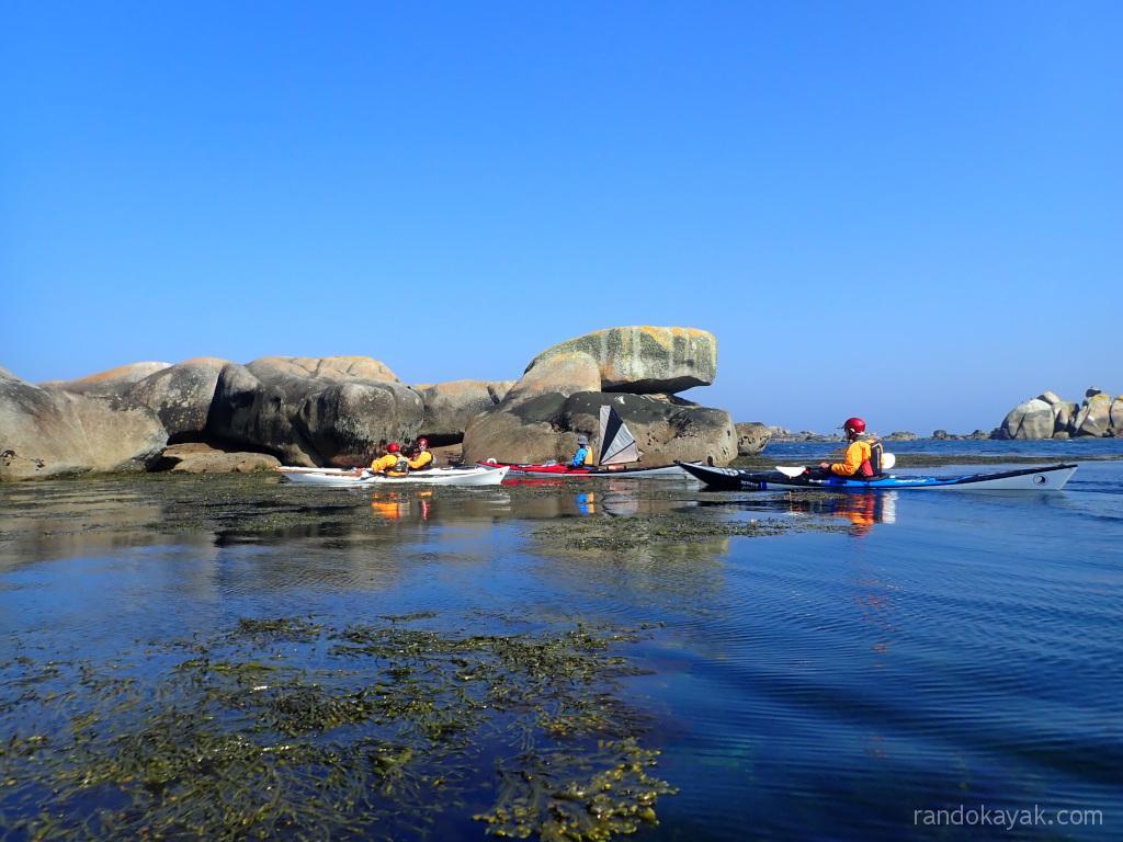 Randonnée de printemps, en kayak de mer à Molène et Ouessant avec CK/mer